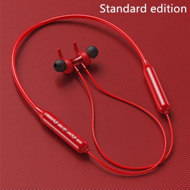 Magnetic Sports Running Headset- Waterproof Sport earbuds Noise reduction Headphones 2