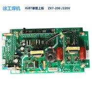 Manuelle DC Inverter Schweiß Maschine Wichtigsten Bord ZX7 200 250 220V Einzigen Rohr IGBT Inverter Board-in Lichtbogenschweißgeräte aus Werkzeug bei
