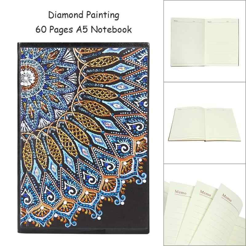 DIY Мандала алмазная живопись журнал для записей новый и качественный алмаз особенной формы живопись A5 ноутбук 60 страниц книга