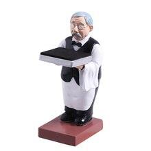 Watch Stand Bracket Old Housekeeper Watch Stand Watch Holder Display Storage Tray Old Man Grandpa Watch Holder