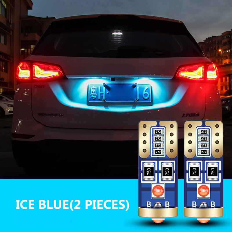 2x T10 W5W LED Bulb Clearance Side Marker Lights For <font><b>Mercedes</b></font> <font><b>Benz</b></font> W203 W221 W211 W220 W163 W164 C E <font><b>SLK</b></font> GLK CLS M GL image