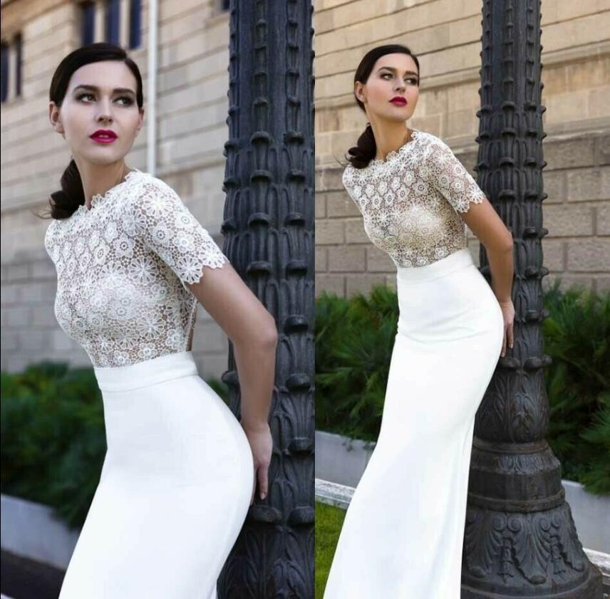 Short Sleeve Wedding Lace Bolero Women Wear Bridal Jackets Top Shawl For Dresses Bride Coat
