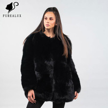 New Women Winter Luxury Coat Full Pelt Genuine Leather Jackets Thick Warm High Quality Russian Outerwear Clothing Customized