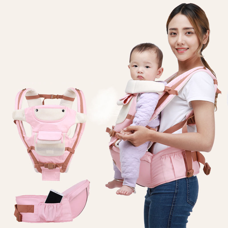 Baby Hipseat Backpack Ergonomic Front Wrap Carrying-Belt Newborn-Sling Kangaroo Infant