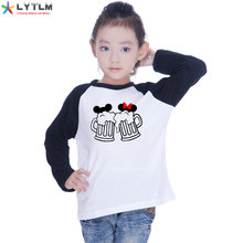 LYTLM Mickey Kids Boys Clothes 2 Years Kids T Shirt With Long Sleeve Roupa Menina Girls Shirts Size 8 Boy T Shirts for Children(China)