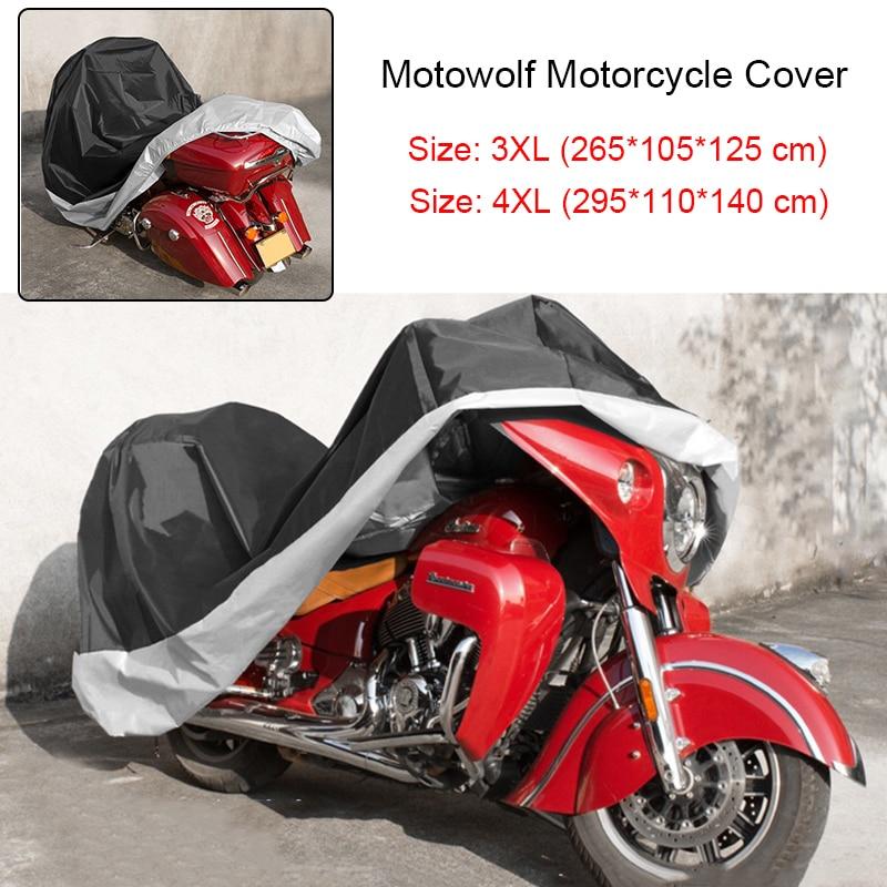 XXXXL Motorcycle Cover For Harley Davidson Electra Glide Ultra Classic FLHTCU