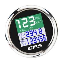 Tft gps 52 mm 12 v carro rpm 10000 k tacômetro medidor tela tft