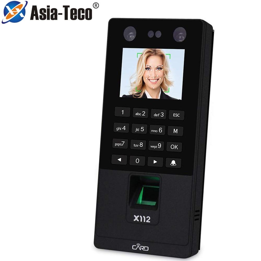 2.8 inch TCP/IP USB Biometric Facial Door Access Control System Fingerprint Face Time Attendance Machine RFID Keypad Reader