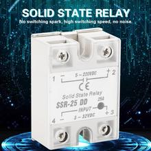 цена на Solid State Relay SSR-25 DD 25A 3-32VDC To 5-220V DC For Industrial Automation Process relay solid state