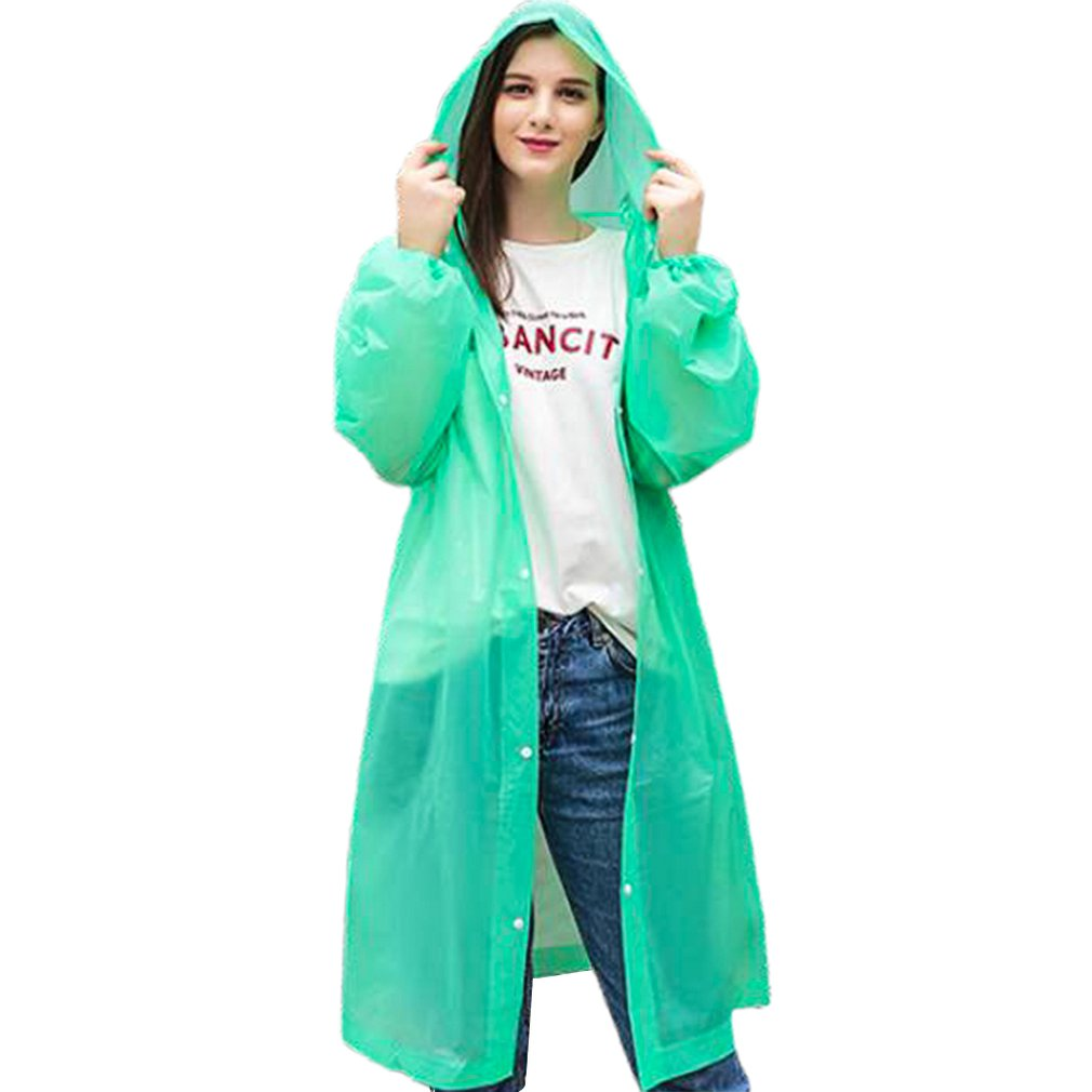 Fashion Disposable Raincoat Thick Drifting Raincoat Travel One-Piece Raincoat Environmentally Friendly Material PE Pullover