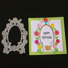 YINISE PUNCHES CUT  Flower Ring Metal Cutting Dies For Scrapbooking Stencils DIY Album Cards Decoration Embossing Die Cuts Tools