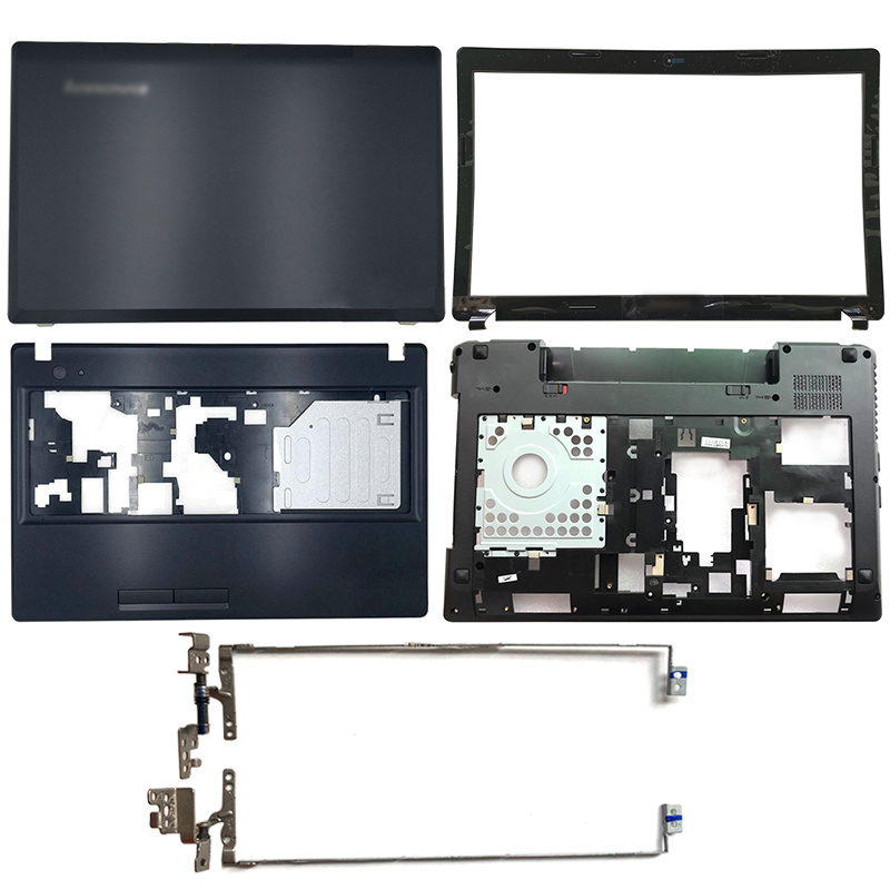 Laptop LCD Back Cover/Front Bezel/Hinges/Palmrest/Bottom Case For Lenovo IdeaPad G580 G585 AP0N2000410 AP0N2000324 AP0N2000100
