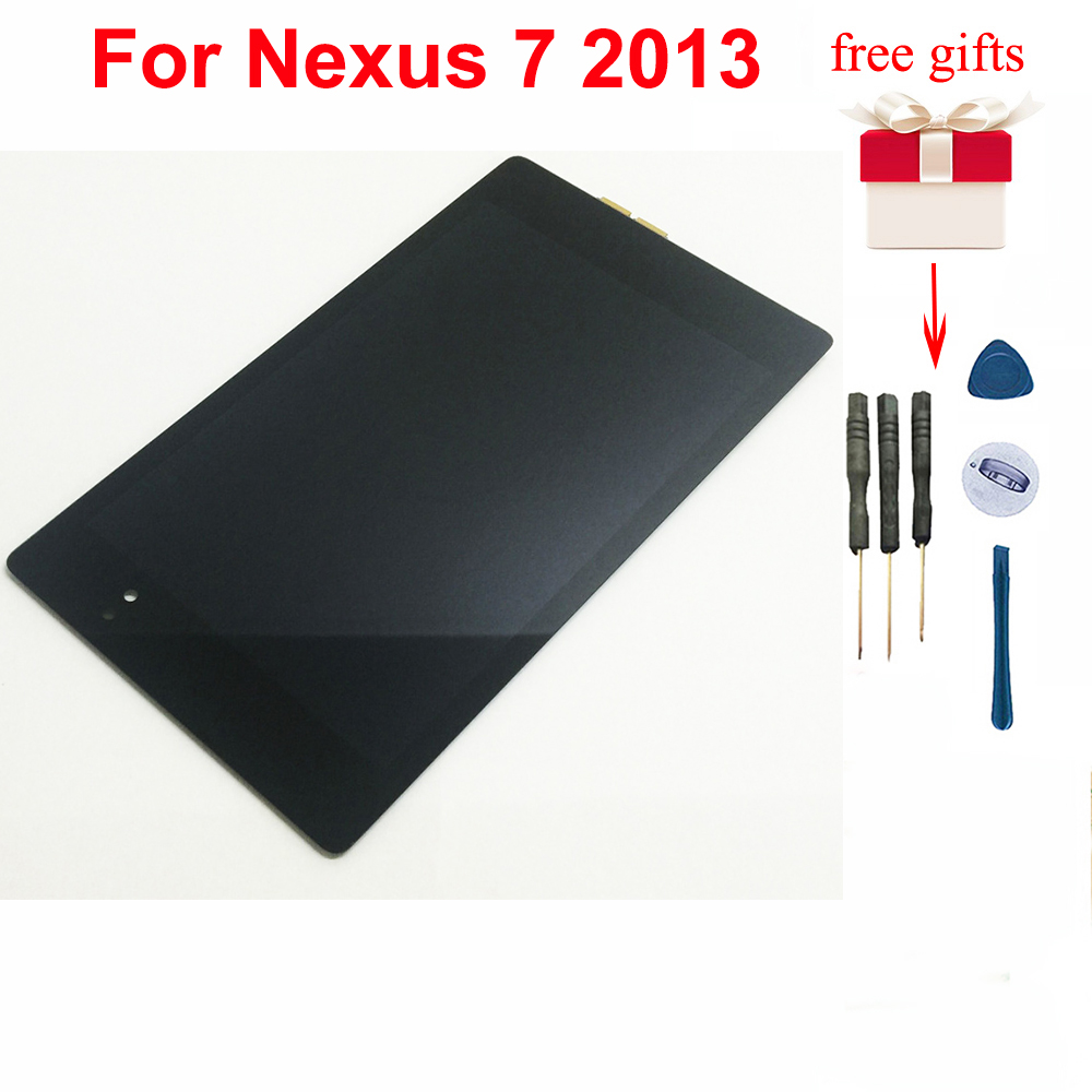 Für <font><b>Nexus</b></font> <font><b>7</b></font> <font><b>2013</b></font> <font><b>LCD</b></font> Display Touchscreen Digitizer Montage Ersatz für <font><b>ASUS</b></font> Google 2nd Gen ME570 ME571 image