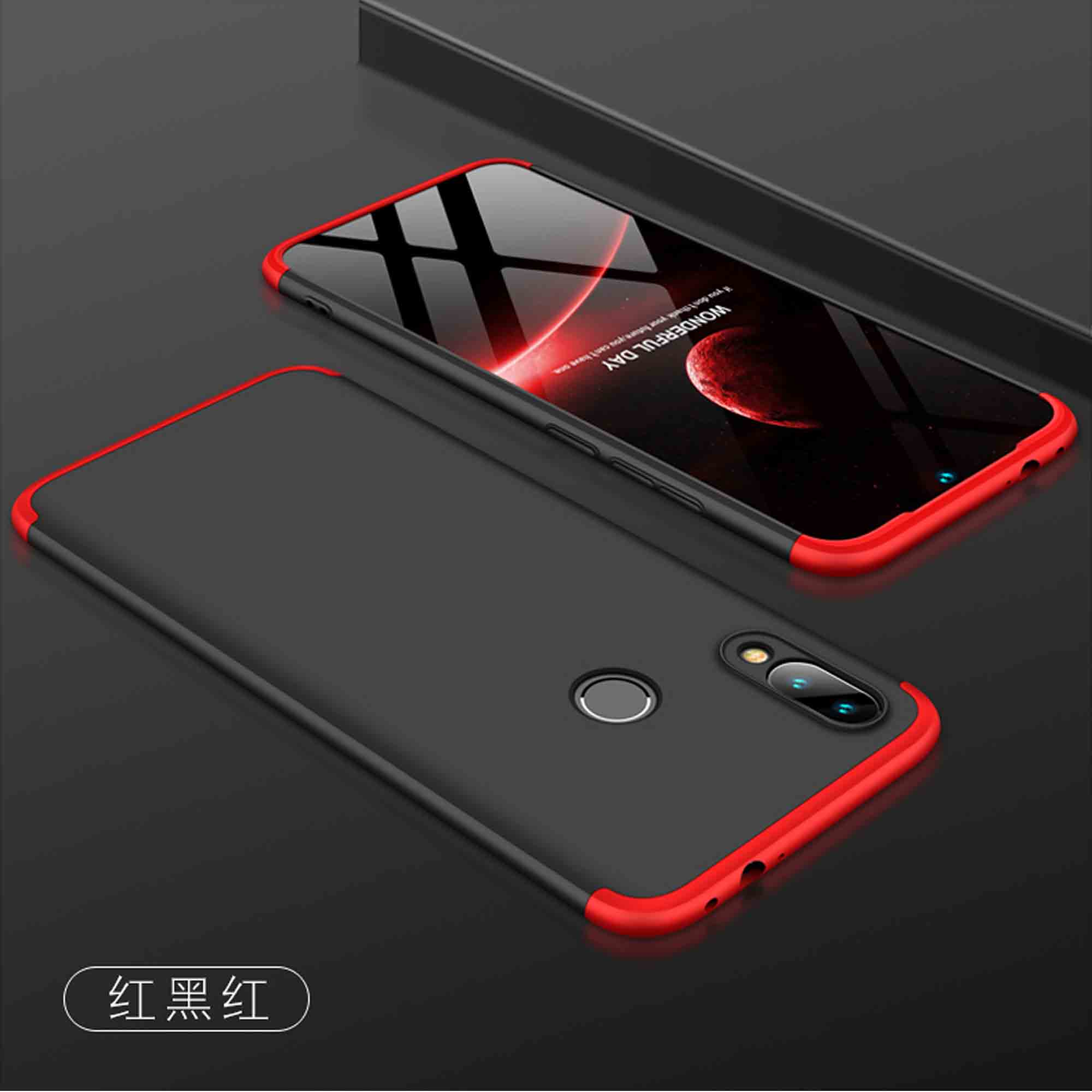 note7 case for Fundas <font><b>Xiaomi</b></font> <font><b>Redmi</b></font> Note <font><b>7</b></font> <font><b>cover</b></font> Hard 3 in 1 Matte Armor Hybrid Shell for <font><b>xiaomi</b></font> <font><b>Redmi</b></font> <font><b>7</b></font> 7A <font><b>7</b></font> A redmi7 <font><b>Back</b></font> <font><b>Cover</b></font> image