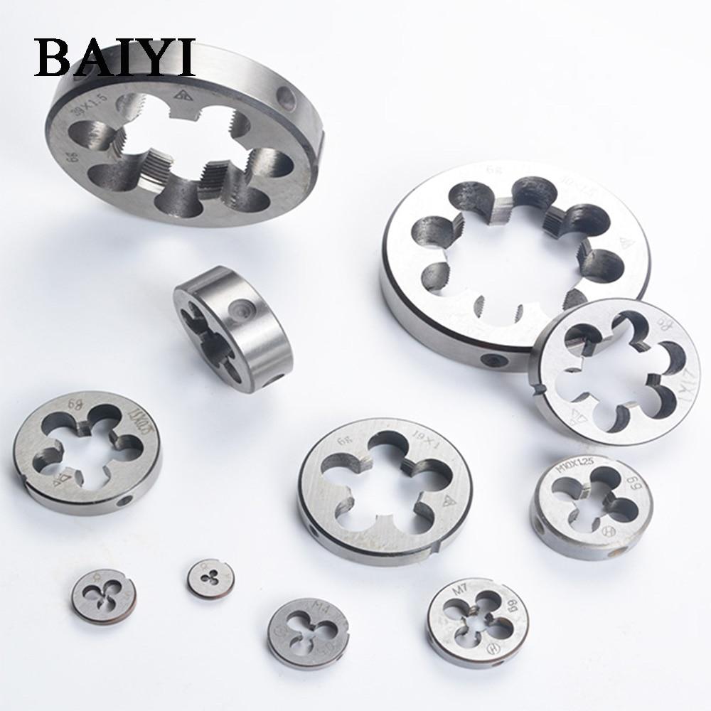 Metric Thread Die M7//M8//M10*1 HSS for mold machining alloy tool steel