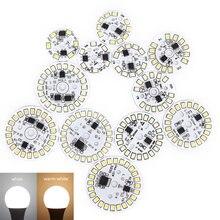Светодиодный чип нашивка лампочка лампа smd пластина круглой