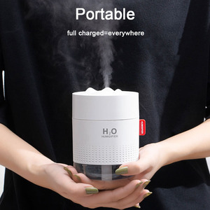 Image 4 - נייד מיני USB אוויר מכשיר אדים 2000mAh סוללה נטענת נסיעות בית תינוק משרד רכב חיוני ארומתרפיה שמן מפזר