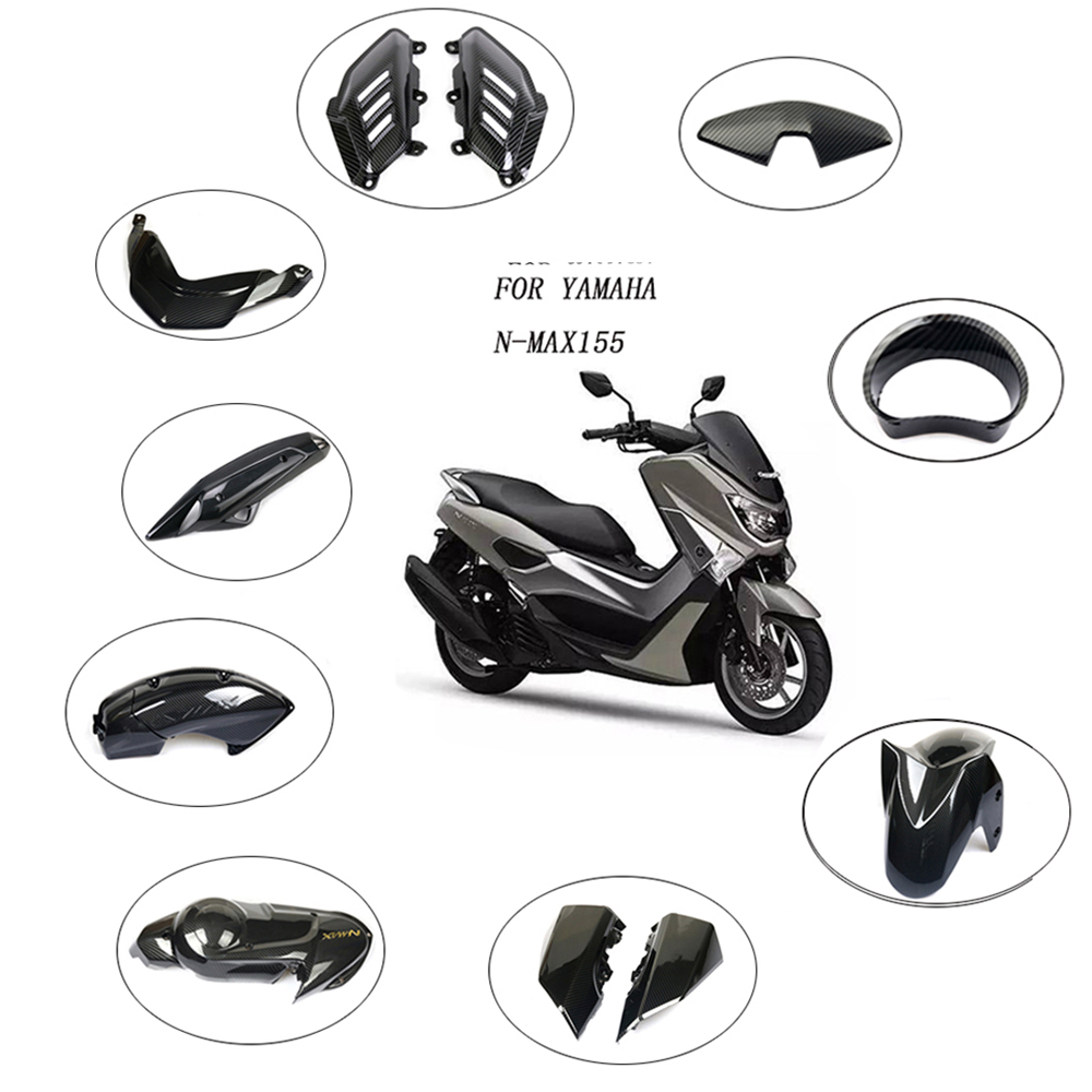 For Yamaha Nmax155 N-max 155 2016 - 2019 Full Fairing Kits plastic shell Motorcycle carbon fiber pattern decorative cover