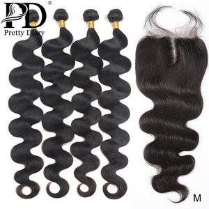 28 30 40 Inch Body Wave Brazilian Hair Weave Bundles With Closure Human Hair Bundles With Closure Remy Hair Weaves Extension