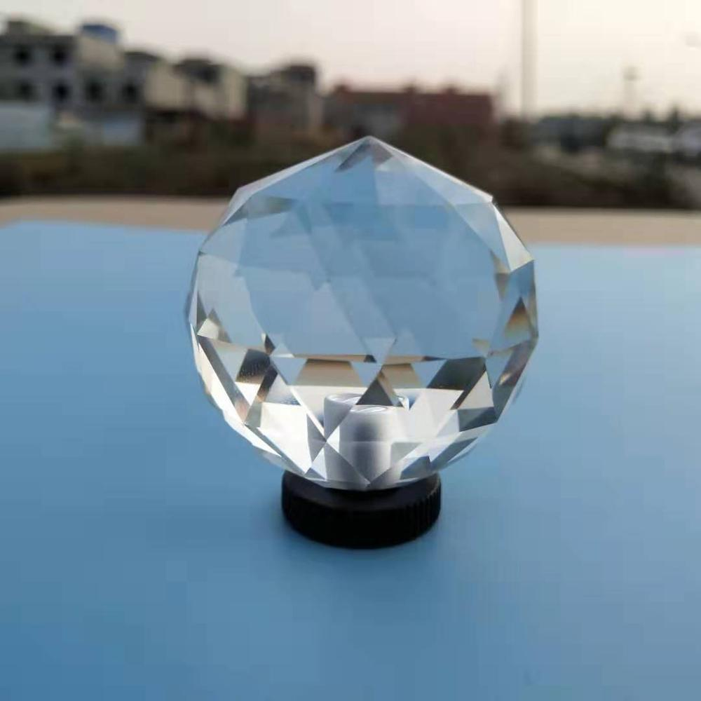 Crystal Prism Ball Photography Accessories Clear K9 Glass Home Decoration Stage Create Light Rainbow Effect