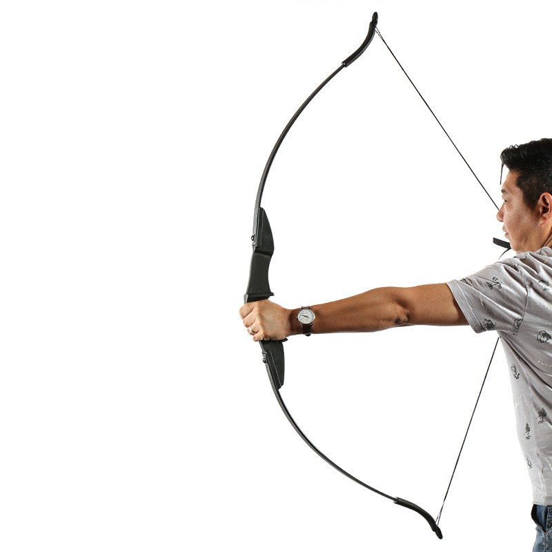 """30//40lb Archery Takedown Recurve Bow 57/"""" Longbow Right//Left Hand Hunting Target"""
