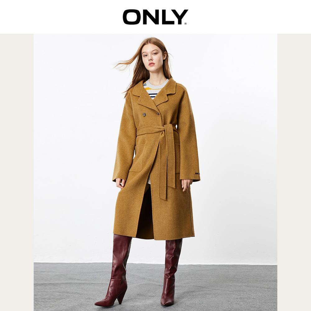ONLY Women's Double-faced Woolen Coat | 11934S521