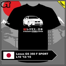 T-shirt Lexus GS 350 F SPORT L10 12-15(China)