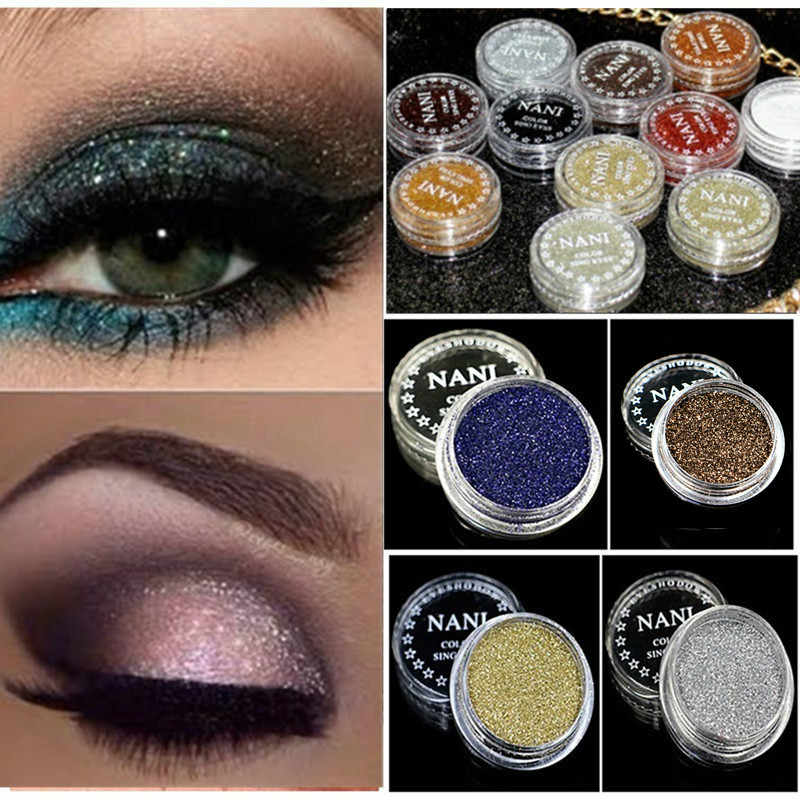 Fashion 23 Warna Bersinar Eyeshadow Mutiara Makeup Glitter Pigmen Smoky Eye Shadow Pallet Tahan Air Kosmetik Eye Shadow