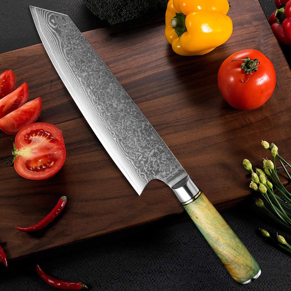 DAMASCUS STEEL JAPANESE KNIFE 67LAYERS