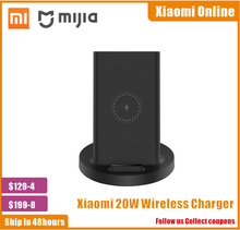 Xiaomi Vertical Wireless Charger 20W Max with Flash Charging Qi Compatible Multiple Safe Stand Horizontal for Xiaomi Smartphone