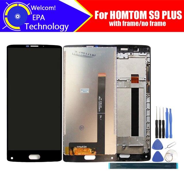 5.99 אינץ HOMTOM S9 בתוספת LCD תצוגה + מסך מגע Digitizer עצרת 100% מקורי חדש LCD + מגע Digitizer עבור s9 בתוספת + כלים