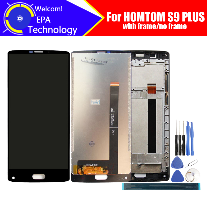 5.99 inch HOMTOM S9 Plus LCD Display+Touch Screen Digitizer Assembly 100% Original New LCD+Touch Digitizer for S9 Plus+Tools(China)