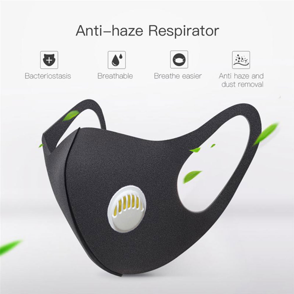 10 pc lote esponja máscaras de poeira-respirador