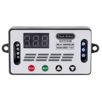 цена на DC 12V DDC-431 Timer Delay Relay Switch Digital LED Display Delay Controller MOS