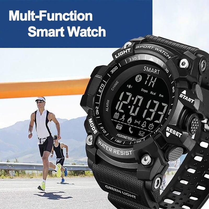 Sport montre intelligente Fitness numérique SmartWatch étanche moniteur de fréquence cardiaque Colok podomètre Calories en plein air hommes femmes montre-bracelet