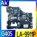 G405 LA-9911P для lenovo G405 материнская плата для ноутбука LA-9911P Материнская Плата E1 cpu 100% протестированная Полная работа