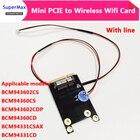 MINI PCI-E to wirele...