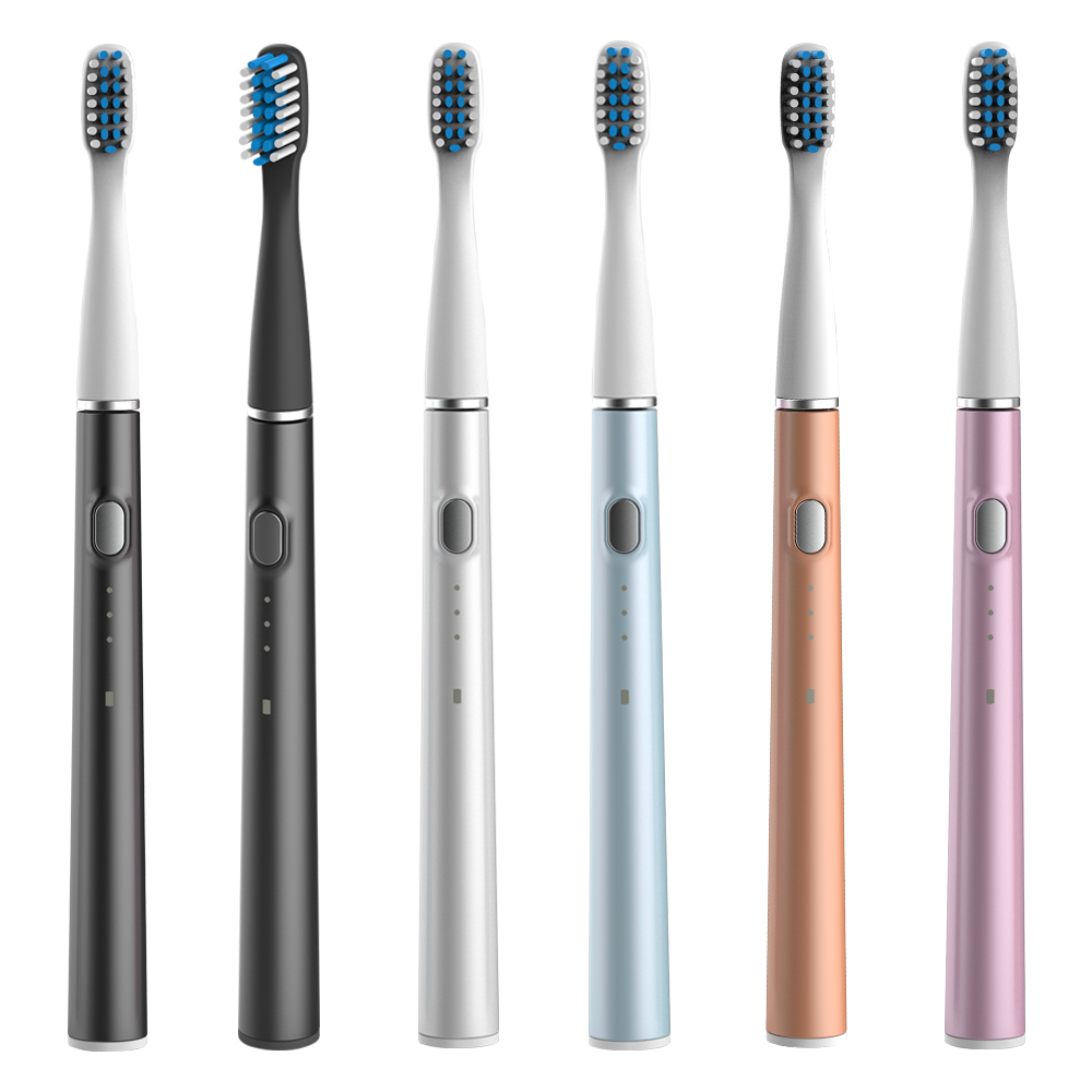 M200 Sonic Electric Toothbrush Adult Ultrasonic Automatic Toothbrush USB Rechargeable Waterproof Tooth Brush