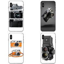 For Galaxy A3 A5 A6 A6s A7 A8 A9 A10 A20E A30 A40 A50 A60 A70 A80 A90 Plus 2018 TPU Pattern Vintage Retro Camera M9 M8 Old(China)
