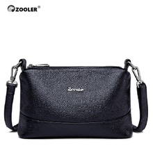 0-profit ZOOLER high quality women messenger bag luxury soft genuine leather designer shoulder bolsa feminina#8156