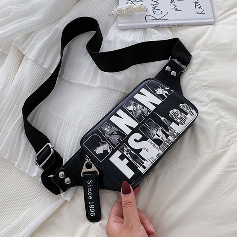 Waist Bag For Women Fashion Ladies Chest Bags Fanny Pack Casual Letter Hip Hop Shoulder Bag Female Brand PU Girl Purse Wholesale