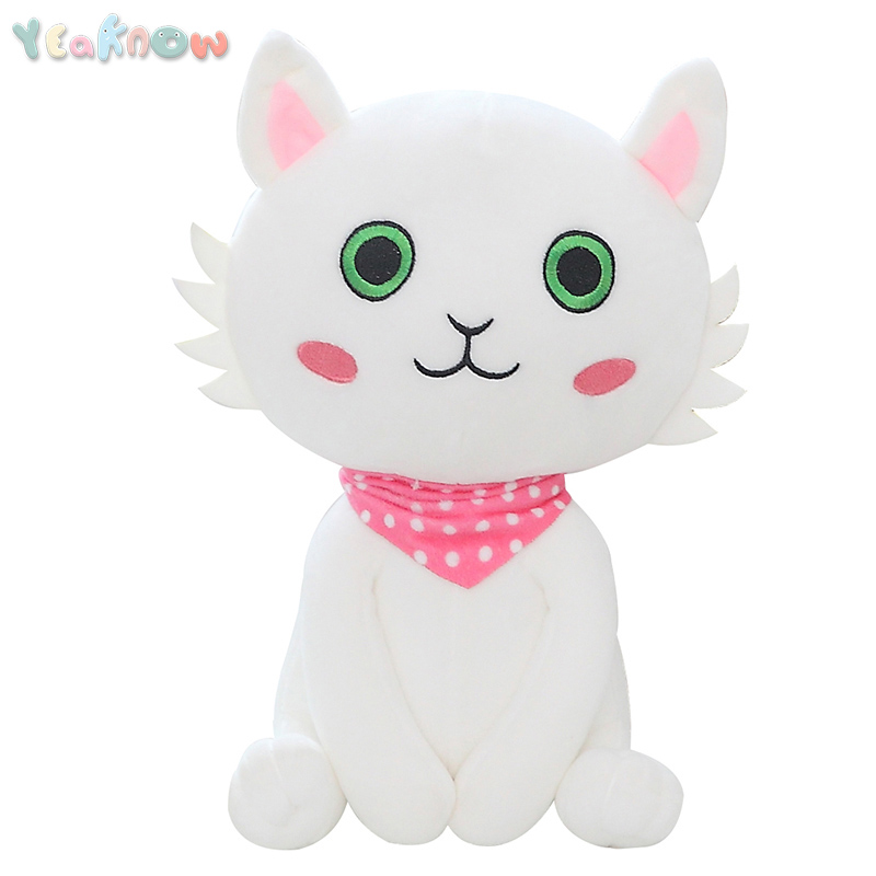 Yeaknow Cat Stuffed Dolls and Warm Winter Hand Warmer Plush Toy Animal Popular Toys for Kids Plush Doll Children Christmas Gift