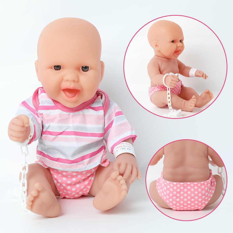 14 นิ้วซิลิโคน Bebe Reborn ตุ๊กตากระเป๋าถือชุดกันน้ำ Boneca 36cm ตุ๊กตาทารกแรกเกิดที่สมจริงสำหรับของเล่นสาวของขวัญ