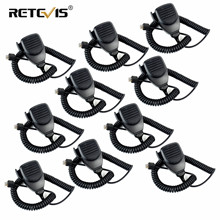 Talkie walkie 8 broches, 10 pièces, pour Kenwood, Radio Mobile, MK001, C9198A