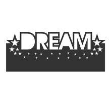 Eastshape Dream Star Border Metal Cutting Dies Stencils for DIY Scrapbooking Embossing Paper Cards Die Photo Album Making