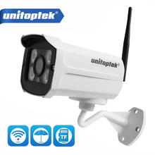 1080P كاميرا wifi ip اللاسلكي في الهواء الطلق 720P Onvif رصاصة كاميرا مراقبة للمنزل للرؤية الليلية 20m CCTV واي فاي كاميرا التطبيق CamHi P2P