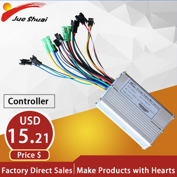 LCD LED 48V/36V 20AH/14AH Electric Bike Controller 500W 350W 250W Motor Brushless controller ebike Tricycle Scooter Accessories