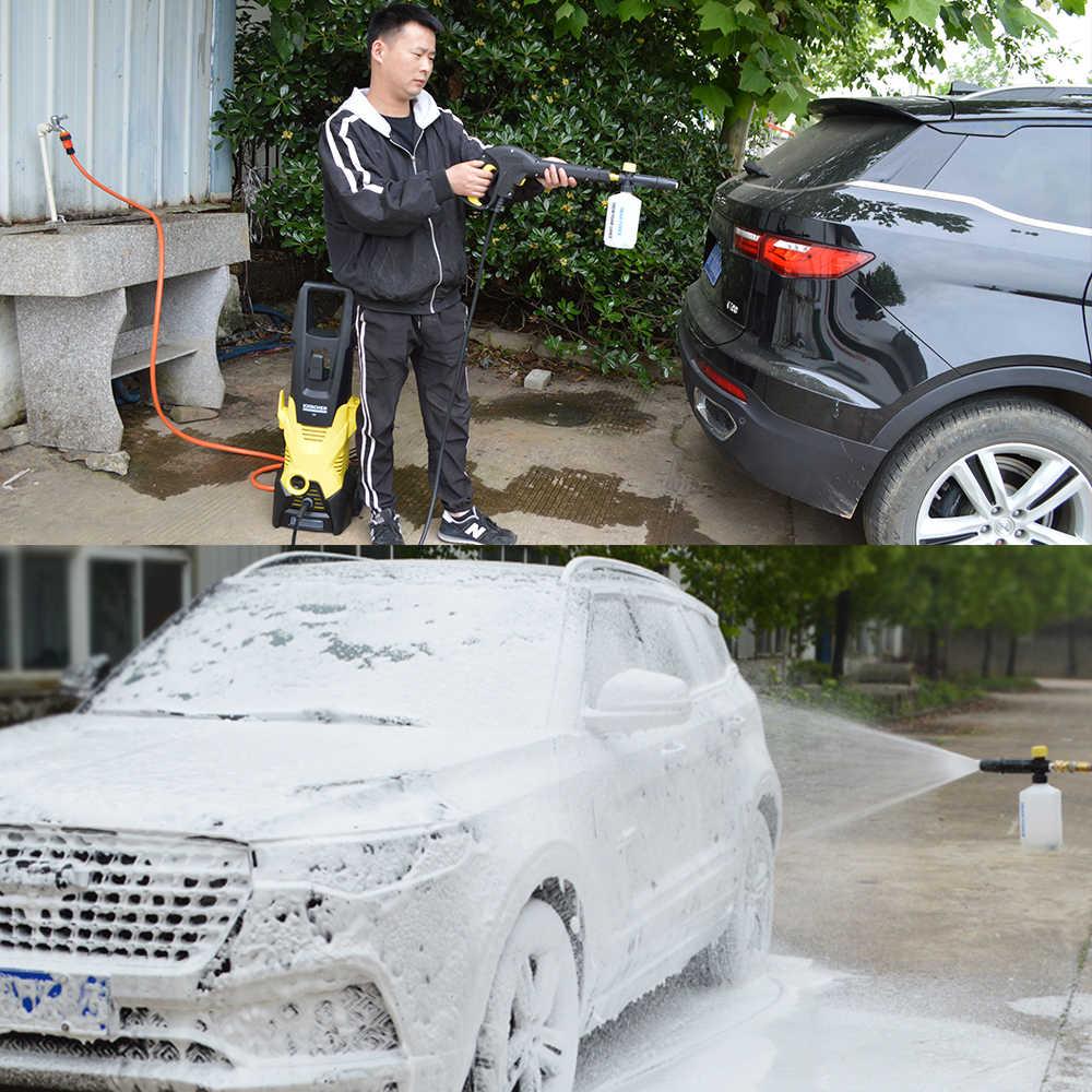 Ugello schiuma Generatore di Schiuma Schiuma Neve Lancia Schiuma Cannone per il Brasile WAP TEKNA JACTO ELECTROLUX Michelin Rondella di Pressione Car Washer