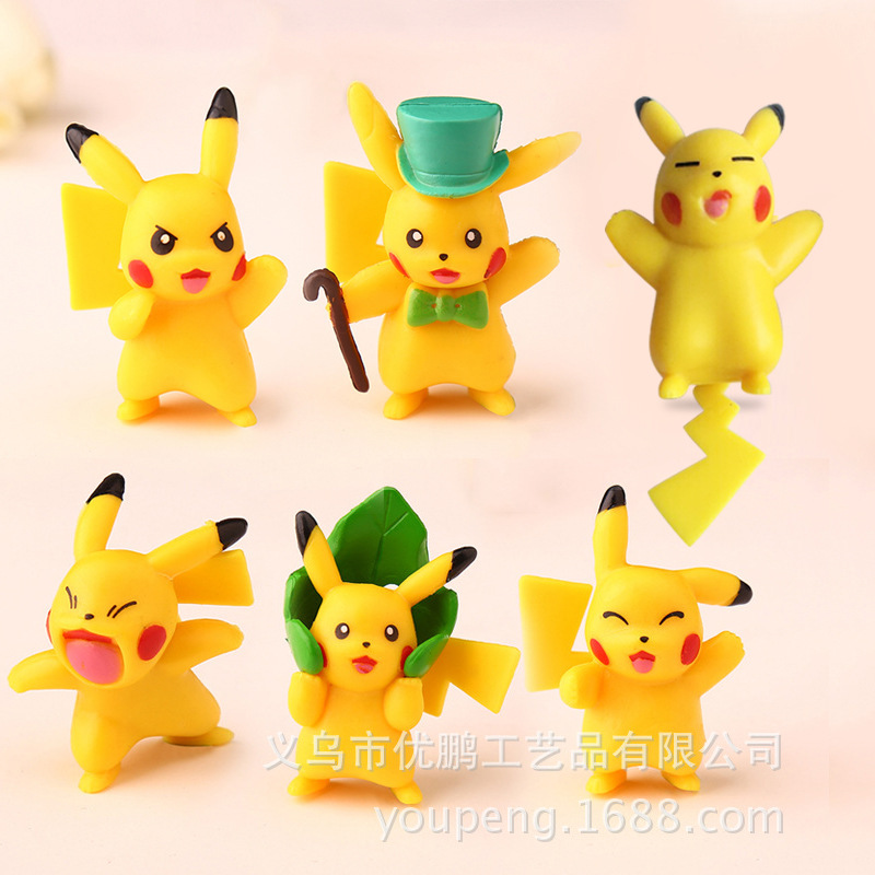 POKEMON GO Mini Pokemon Pet Pokemon Pokhacho Hand-run Model Doll Wholesale