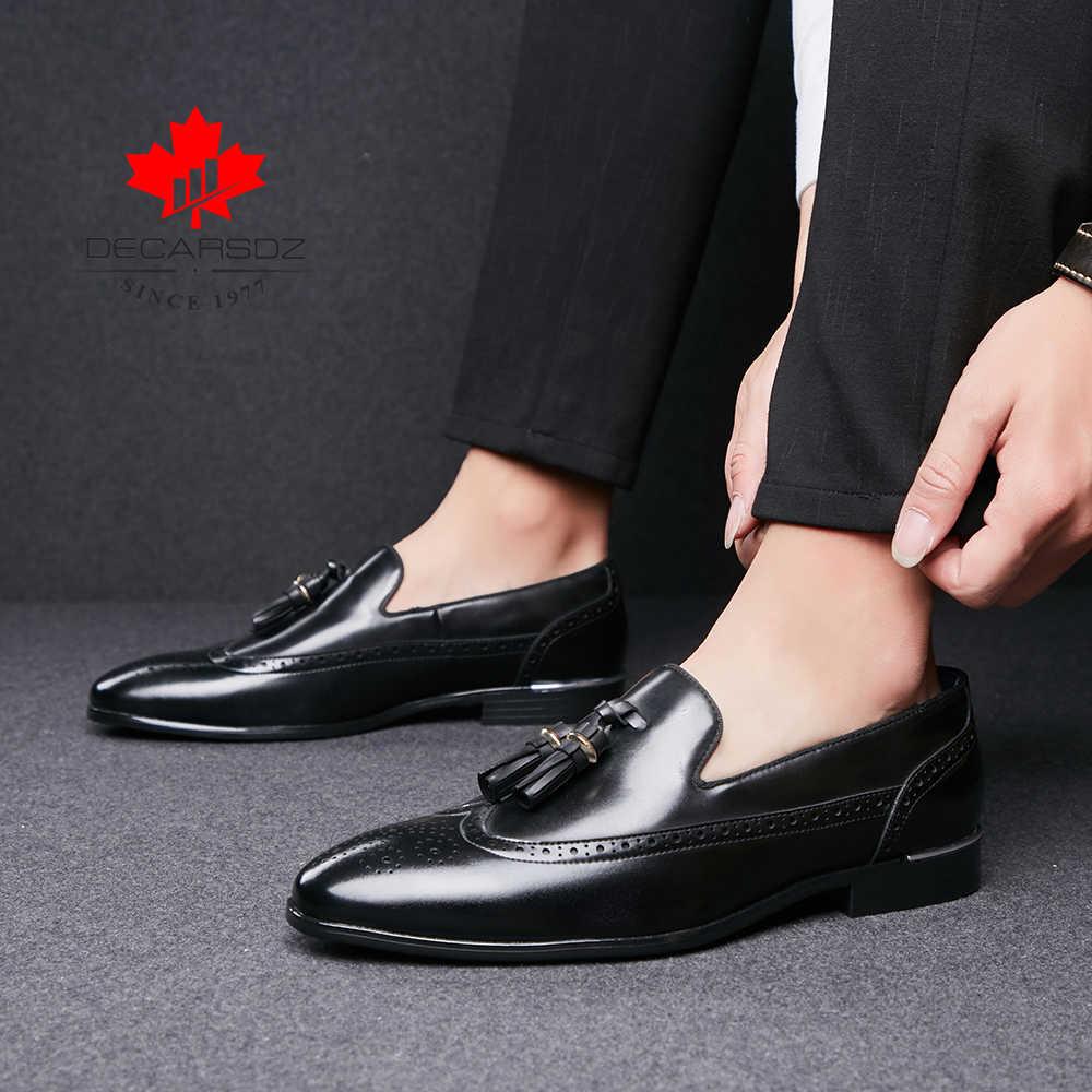 Men Dress Shoes 2020 Autumn Fashion